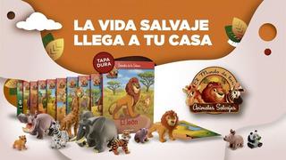 Coleccion Animales Salvajes Sábana Planeta Deagostini