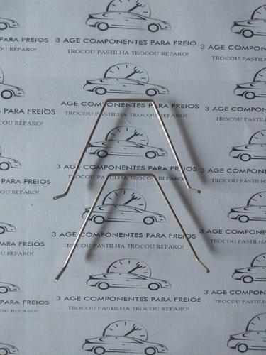 Imagem 1 de 4 de  Trava Pastilha Freio Diant March Tiida Versa Livina 2pçs