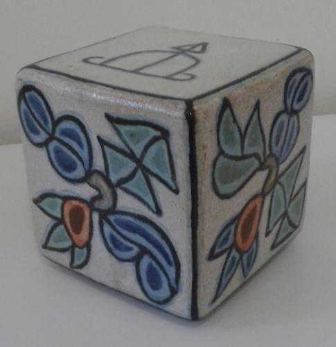 Francisco Brennand - Cubo Em Cerâmica - 11x11 Cm - Novo.