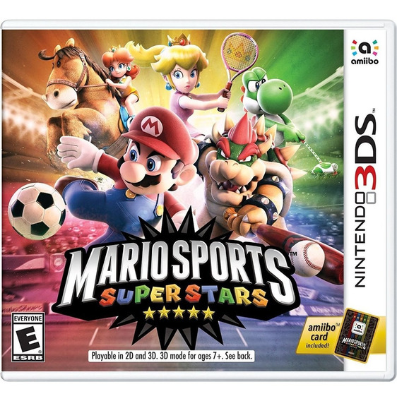 Jogo Midia Fisica Mario Sports Super Stars Para Nintendo 3ds