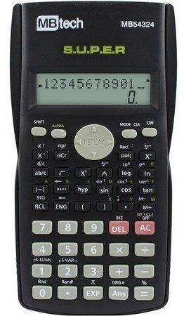 Calculadora Científica Estudante 240 Funções Duplo Display