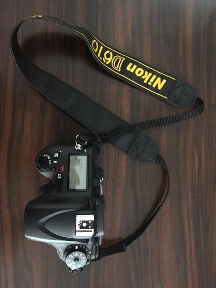 Câmera Nikon D610 Semi-nova