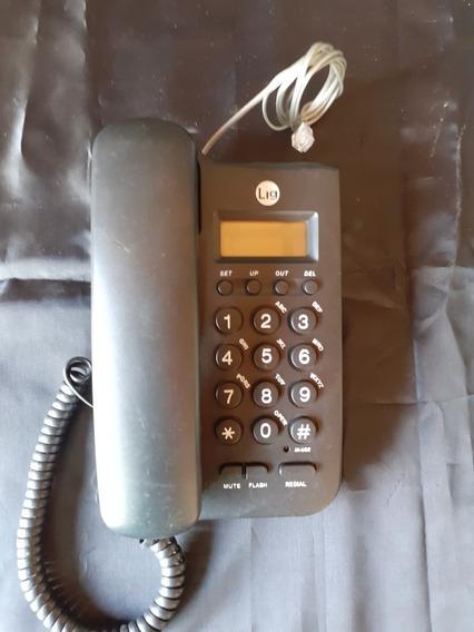 Aparelho Telefone Usado Funcionando Tecla Grande Digital