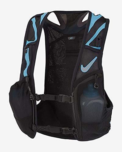 Nike Trail Kiger Vest 3.0, Correr, Senderismo, Negro / Azul