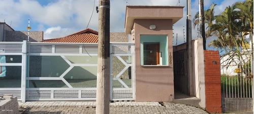 Imagem 1 de 11 de Casa Para Venda Em Itanhaém, Cibratel Ii, 2 Dormitórios, 1 Banheiro, 1 Vaga - It810_2-1219355