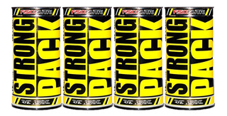 4x Strong Pack - Fisionutri 44 Packs 5 Cápsulas E 6 Tabletes