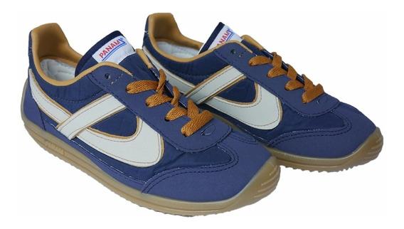 Panam Tenis Azul / Beige Jogger Asics Vintage 010051 0097