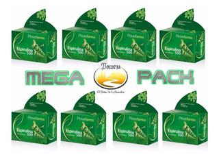 Poweza Mega Pack Espirulina Es Un Alga Divina X 8 Cajas!!