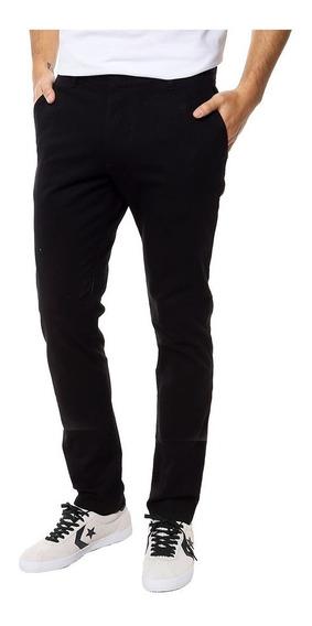 Pack X2 Pantalones Hombre Corte Chino Gabardina Jean Jogging