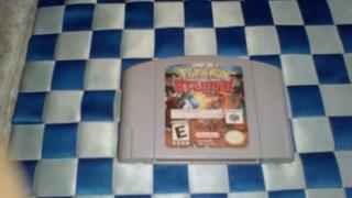 Pokemon Stadium Nes 64 Funcionando Muy Bien