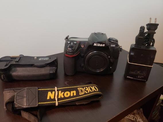 Nikon D300 Impecable Con Grip Nikon