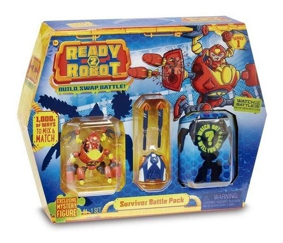 Coleccionable Ready2robot Pack De Batalla - Juegos Y Juguete