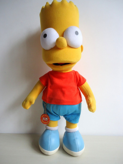 Bart Simpsons Pelúcia Original Fox ( Fala ) ! !