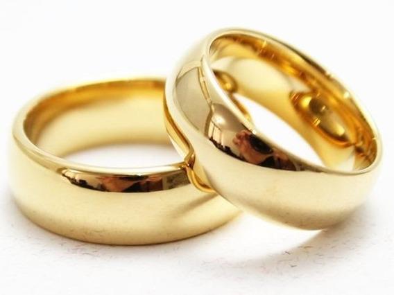Aliança De Noivado /casamento ( Com Brinde)