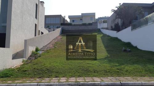 Excelente Terreno Á Venda No Condomínio Alphasitio Residencial - Alphaville - Confira ! - Te0498