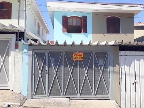 Sobrado Com 3 Dormitórios À Venda, 130 M² Por R$ 650.000 - Vila Anhangüera. - So0249 - 34649998