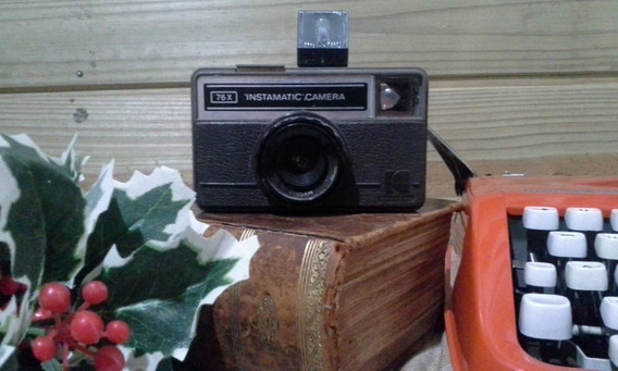 Antiga Camera Fotográfica Kodak Instamatic 76-x Raridade