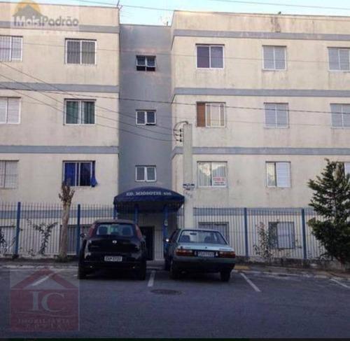 Apartamento Com 3 Dormitórios À Venda, 69 M² Por R$ 235.000,00 - Jardim Rio Das Pedras - Cotia/sp - Ap0322