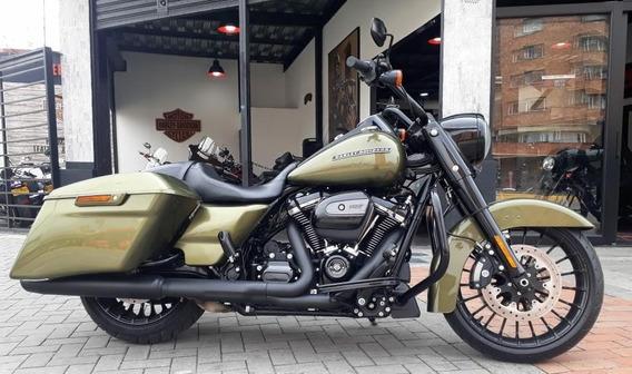 Harley-davidson Road King ® Especial, Hermoso Verde Oliva