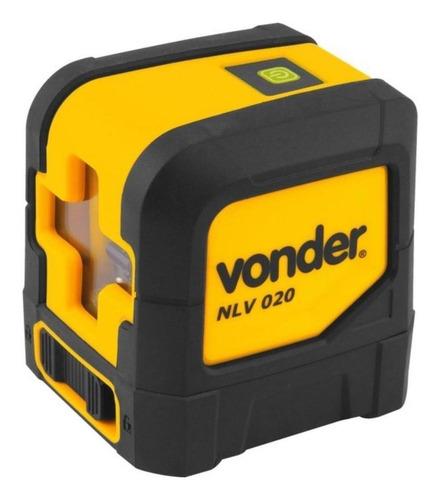 Imagem 1 de 4 de Nível laser de linhas cruz Vonder NLV 020 20m