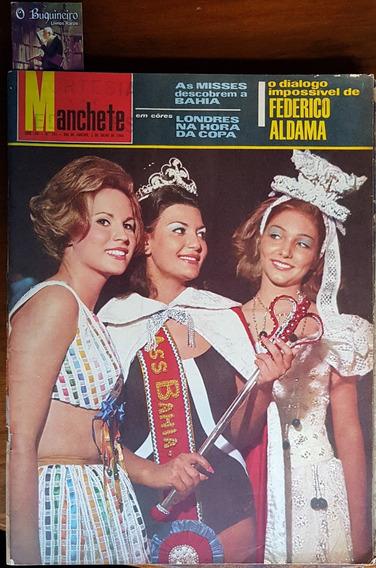 Revista Manchete - Misses Descobrem A Bahia - 1966
