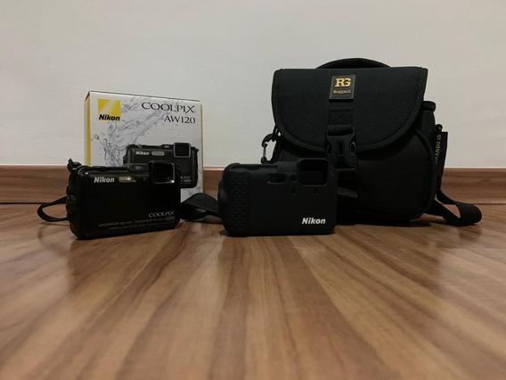 Nikon Coolpix Aw120 Preta
