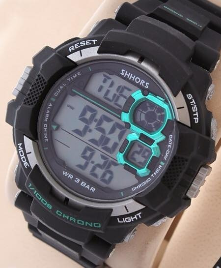 Reloj Tipo G Shock Marca Shhor Resistente A Golpes Y Agua