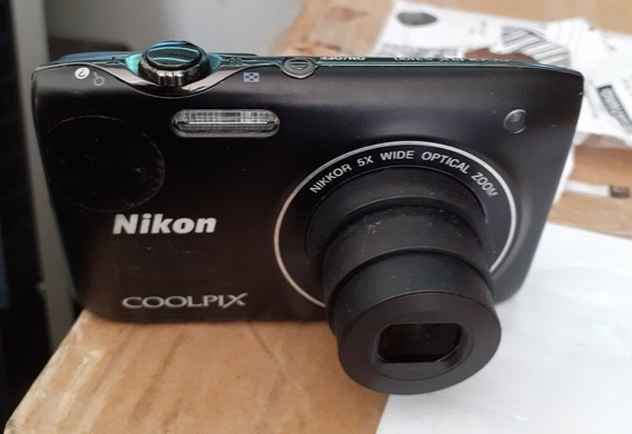Maquina Fotografica Nikon Coolpix S3100