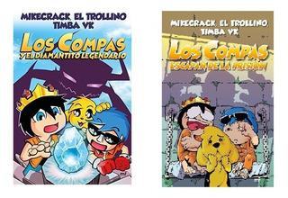 Pack Los Compas 1 Y 2 - Mikecrack - Martinez Roca