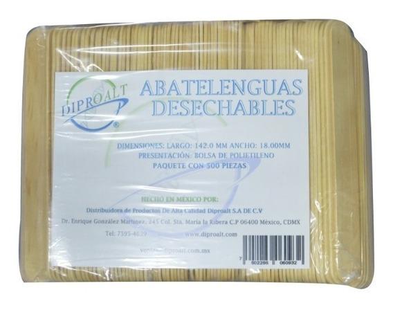 Abatelenguas Desechables C/500