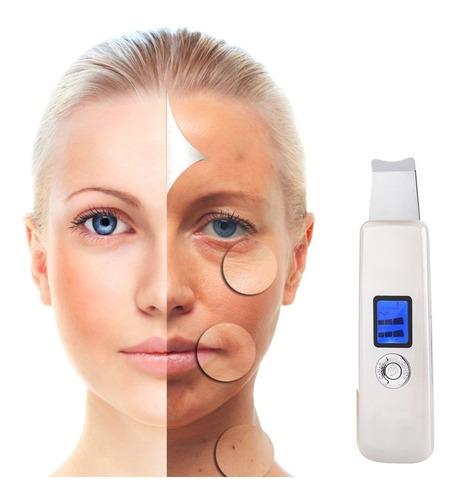 Imagen 1 de 10 de Masajeador Facial Espatula Peeling Limpia Poros Acne Cuotas