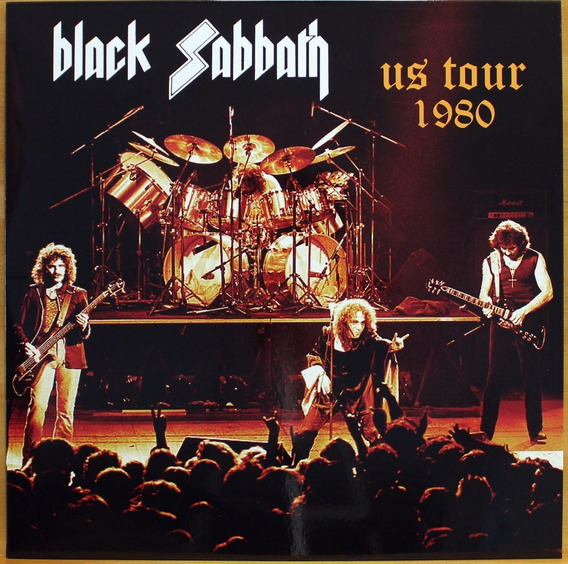Lp Black Sabbath - Us Tour 1980 ( Importado )