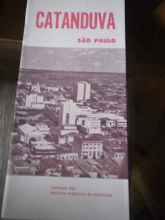 Monografia Antiga Ibge Cidade Catanduva Estado São Paulo