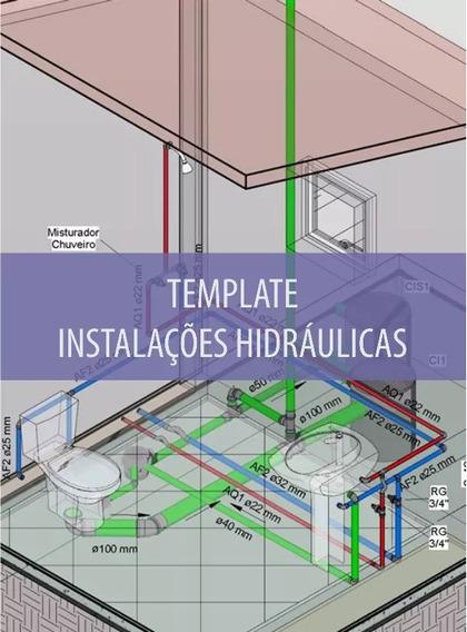Template Hidráulica + Curso + Brindes