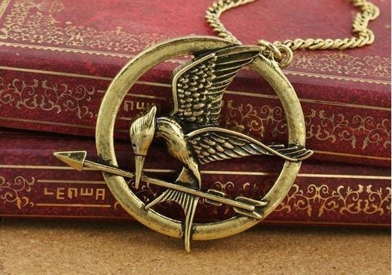 Harry Potter Hunger Games Of Colar Do Pássaro Mulheres/homen