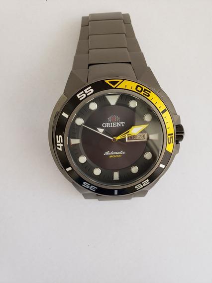 Relógio Orient Seatech Automático 469ti003 Titânio