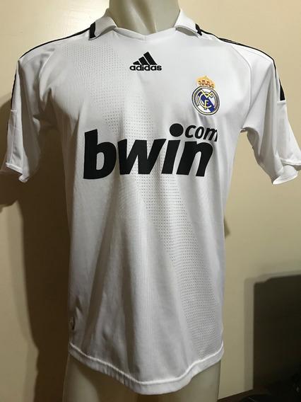 Camiseta Real Madrid España 2008 2009 Sergio Ramos #4 T. M