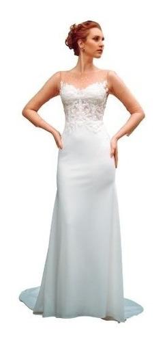 Imagen 1 de 3 de Vestido De Novia Modelo Merci Mátug