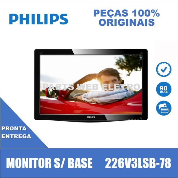 Monitor Philips 22 226v3lsb-78 Apenas Monitor S/ Base E Cabo