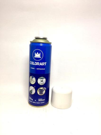 Tinta Spray Branco Perolado Metálico Colorart Carro Objetos