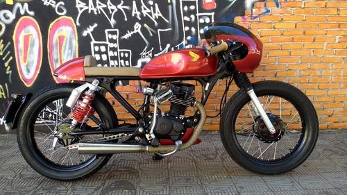 Imagem 1 de 14 de Honda Cafe Racer Vendo/troco Por Moto