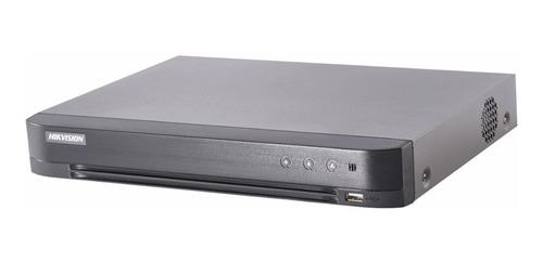 Grabadora Dvr 8 Canales Hikvision 3mp Turbo Hd Audio 7208hqhi