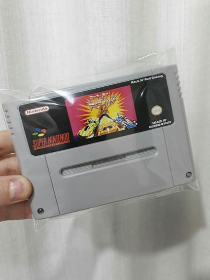 Fitas De Super Nintendo Rock In Roll Racing