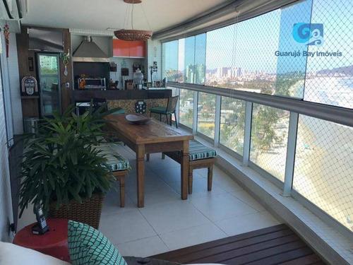 Imagem 1 de 30 de Apartamento A Venda Com Vista Para O Mar Na Praia Da Enseada - Guarujá - Ap4689