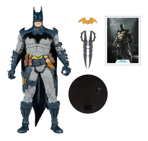 Imagen 1 de 2 de Batman Todd Mcfarlane Dc Multiverse Mcfarlane Toys