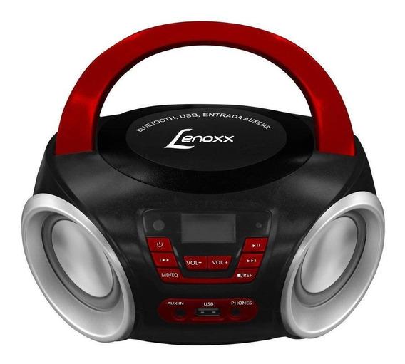 Som Portátil Lenoxx Boombox Mp3 Player Bluetooth Bd110