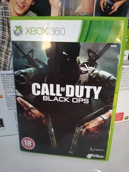 Call Of Duty Black Ops Xbox 360 Midia Física Impecável