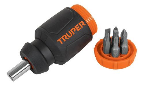Imagen 1 de 3 de Desarmador Tipo Trompo Con 7 Puntas Truper 10751