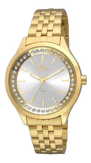 Relógio Allora Feminino Flor Da Pele Al2035fhw/4k - Dourado