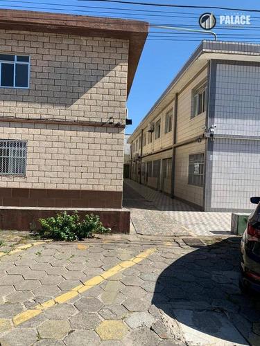 Kitnet Com 1 Dormitório À Venda, 35 M² Por R$ 115.000,00 - Canto Do Forte - Praia Grande/sp - Kn0026